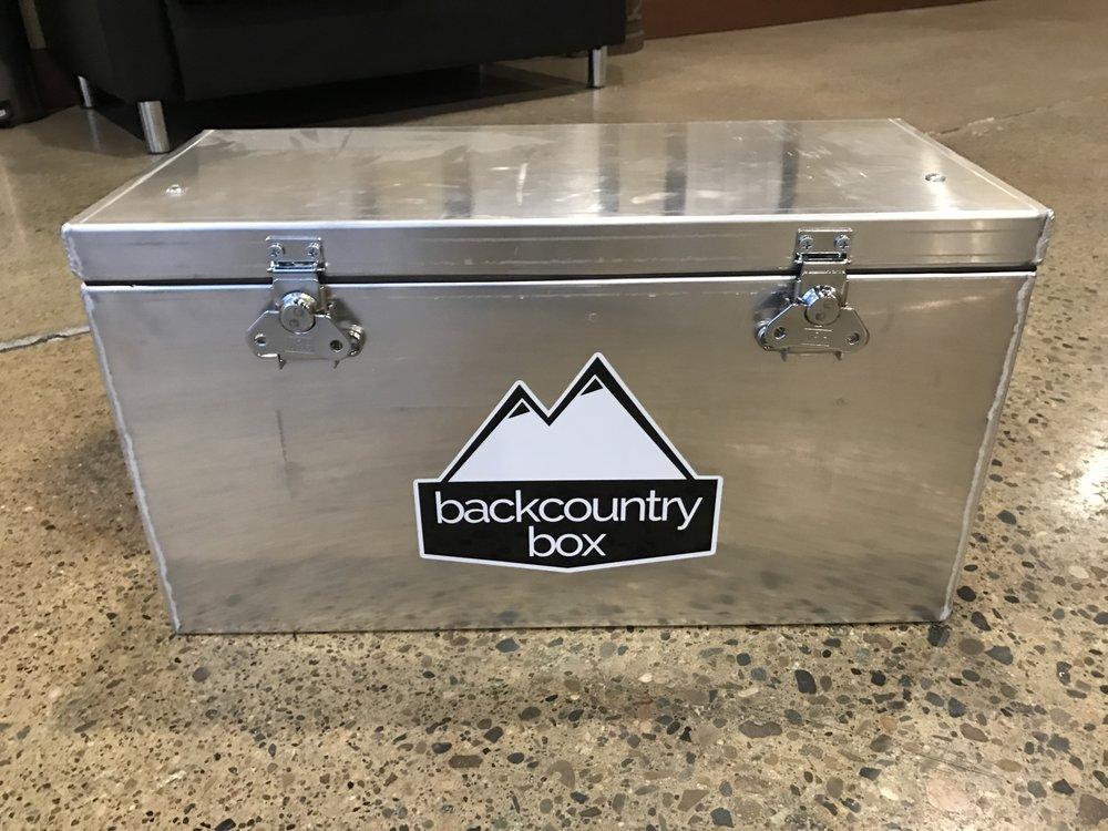 Aluminum Storage/Dry Box & Aluminum Storage/Dry Box u2014 Backcountry Box