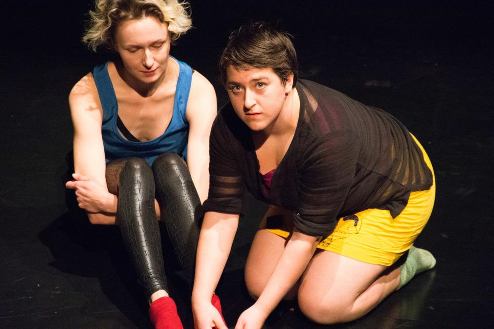 """Sock Piece"" at FringeArts Scratch Night with Irina Varina"