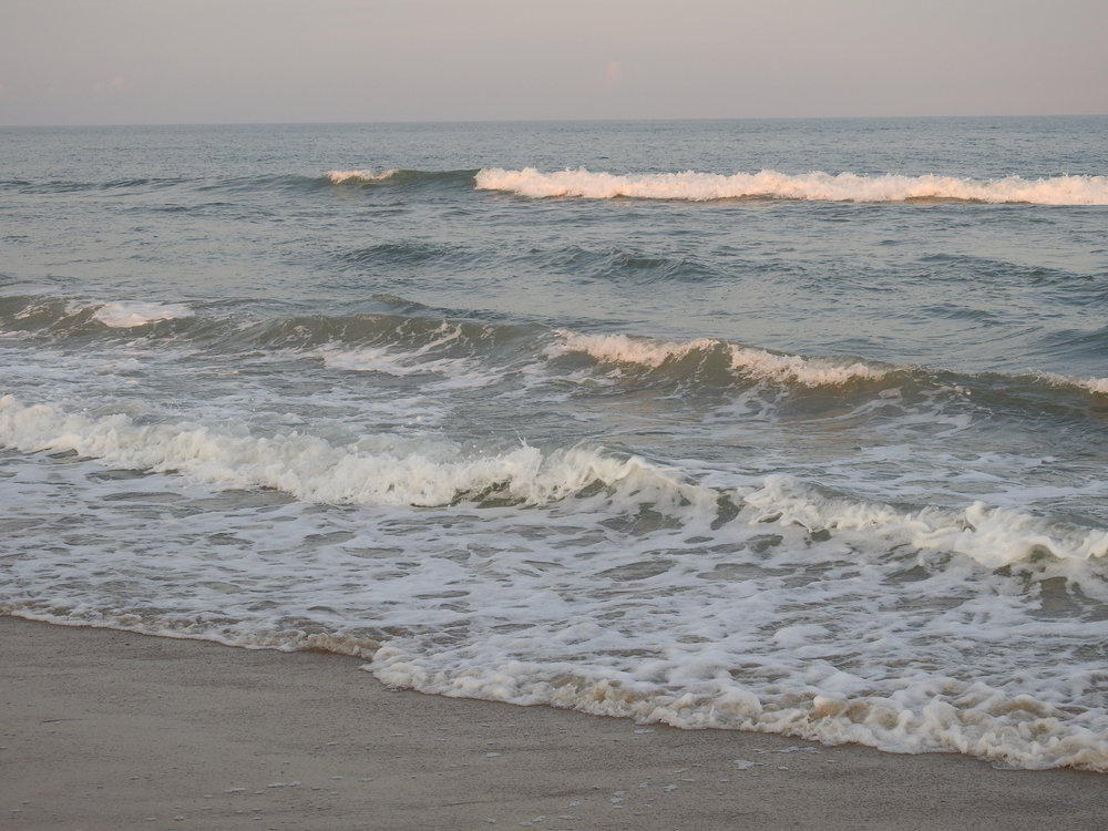 Life is like the tide as it comes and goes in phases--washing away, then bringing back what was taken.
