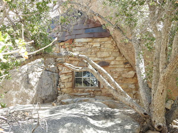 The old house at Eagle Cliff Mine at Joshua Tree National Park--a symbol of resilience and creativity in the desert.