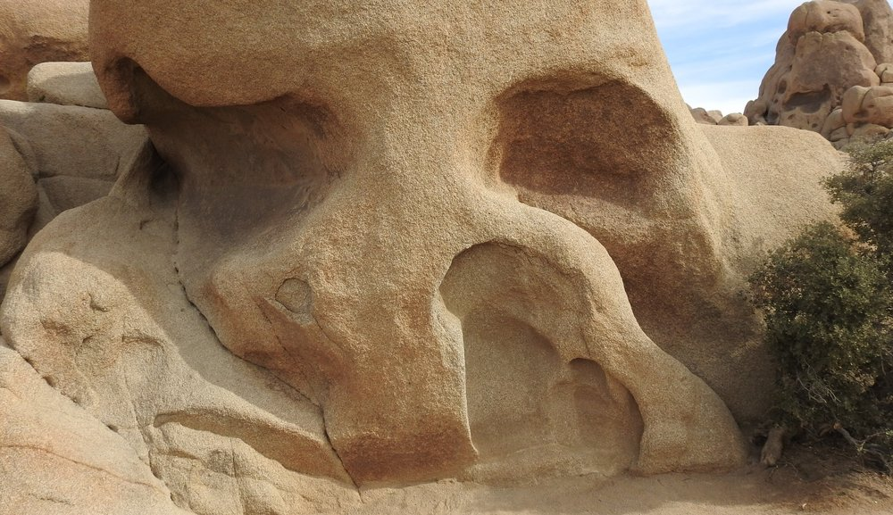 The Skull at Joshua Tree National Park