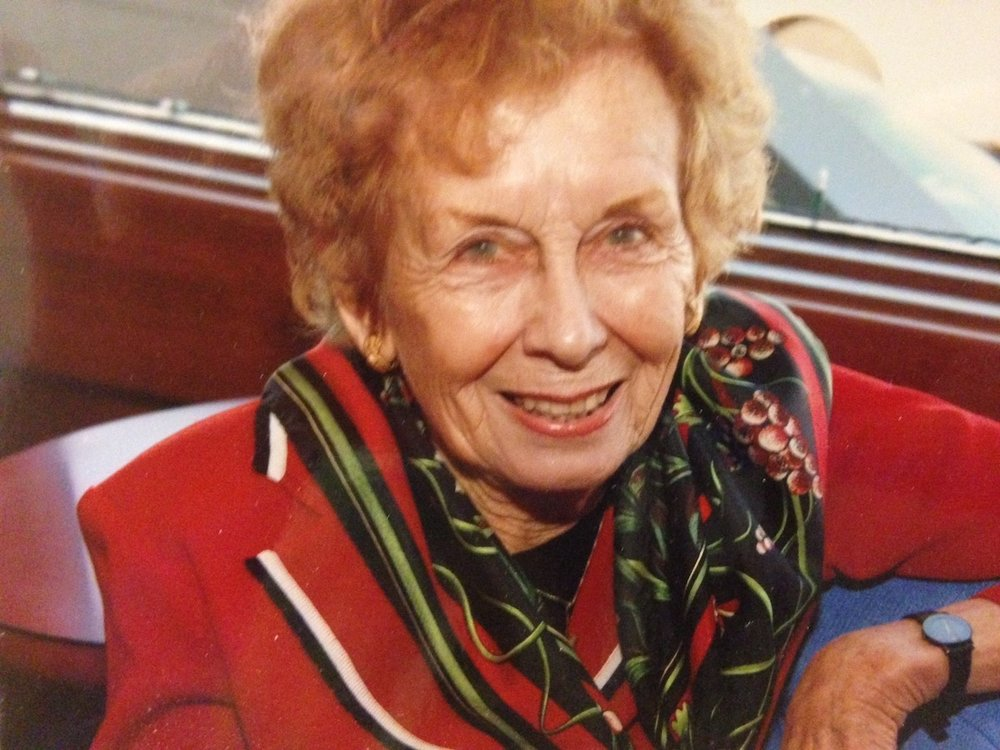 In Memory of Irene Wilhelm, San Francisco, California (May 5, 1928 - August 28, 2018)