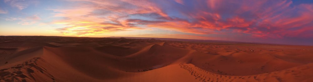 Sunset over the Sahara ©CocoBetty Photography