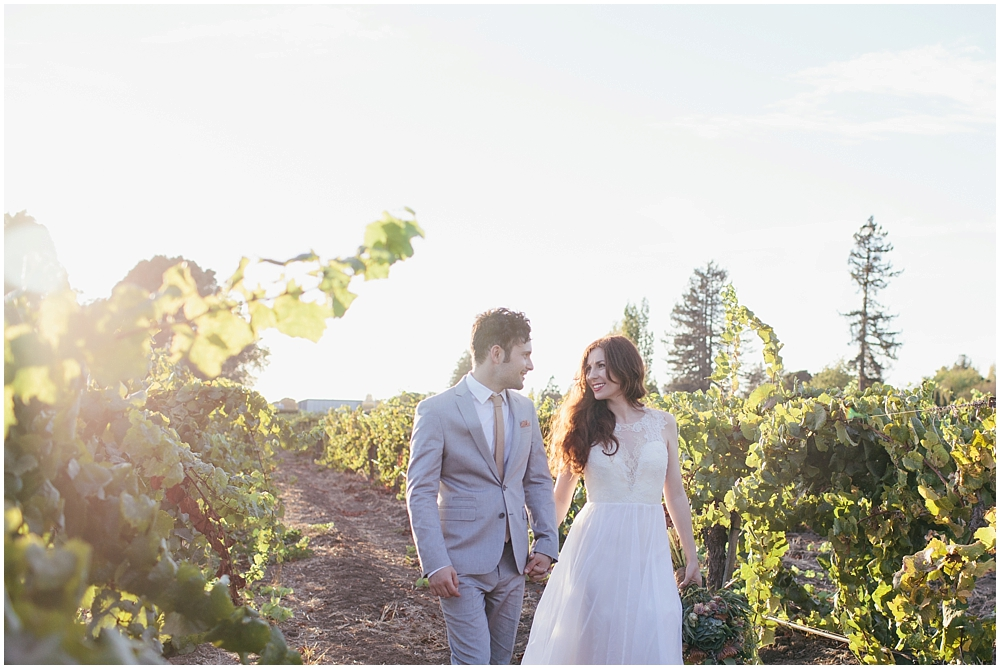 LAUREN & JB - Lauren & Jb's destination wedding was at his Grandparents vineyard in Napa Valley, California in the United States.