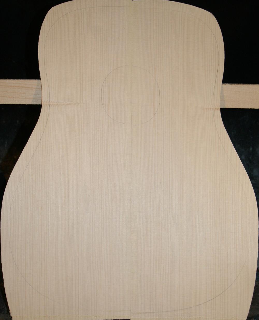 $85 Guitar Top