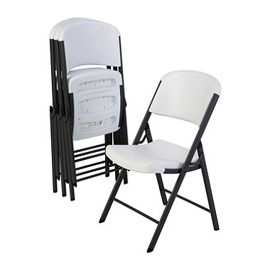 Lifetime Chairs    Units Needed: 192          Cost: $5900   We appreciated the donation of school chairs when we first opened our doors, but now we'd like to have a more uniform look throughout the dining hall and meeting rooms.   We're also assume our adult clients would like a full size chair to sit in.