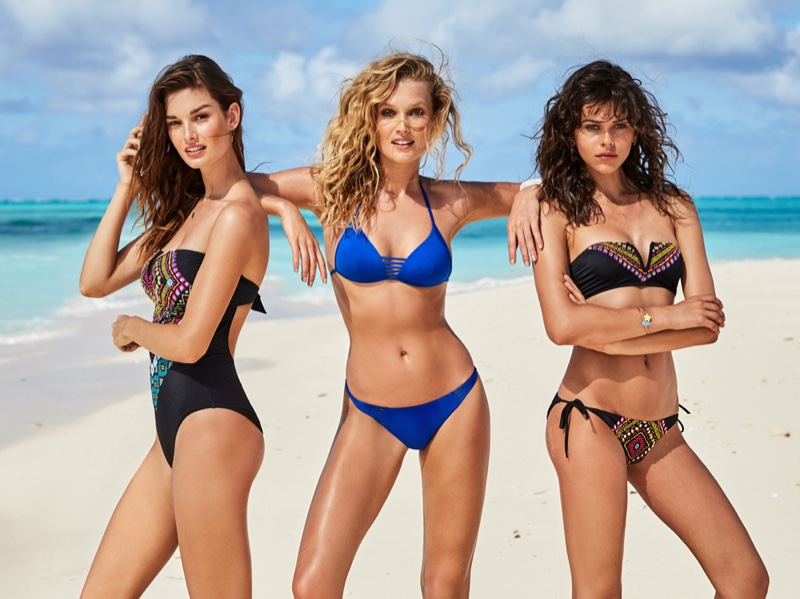 An image from Calzedonia's summer 2017 swimsuit campaign