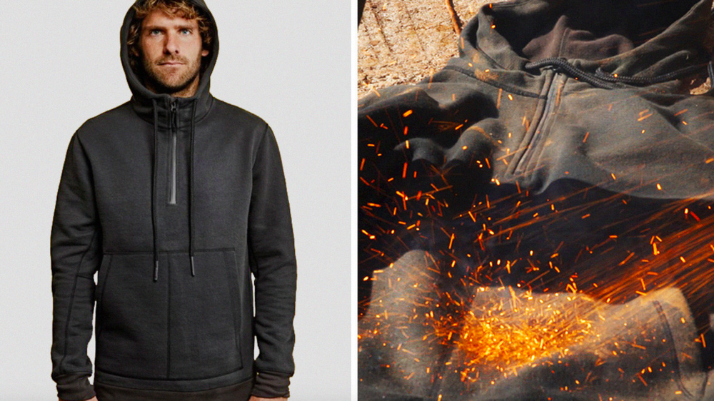 "Vollebak Unleashes The Kevlar-Infused ""100-Year Hoodie"""
