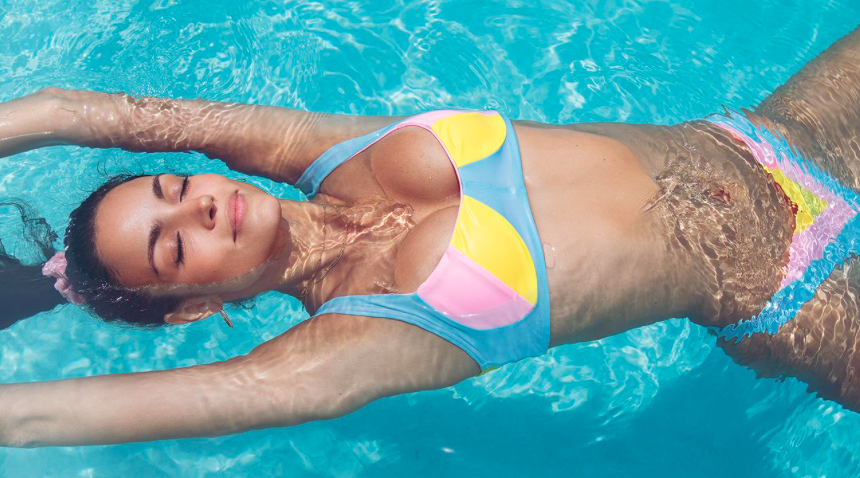 Model Sofia Resing has teamed up with designer Mery Racauchi to create her debut swimwear line.