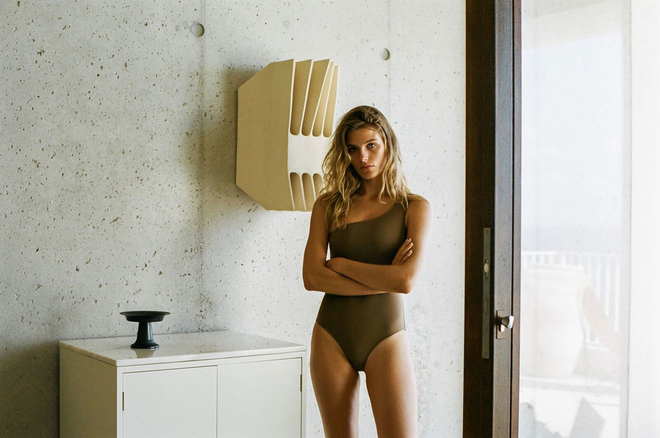 Former Vogue Paris stylist Talia Collins has launched her own label of on-trend, customizable swimwear. What's more, they're totally eco-friendly.