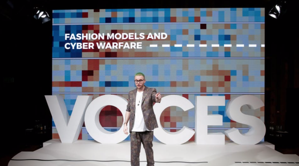 Christopher Wylie at VOICES | Source: BoF/Getty Images