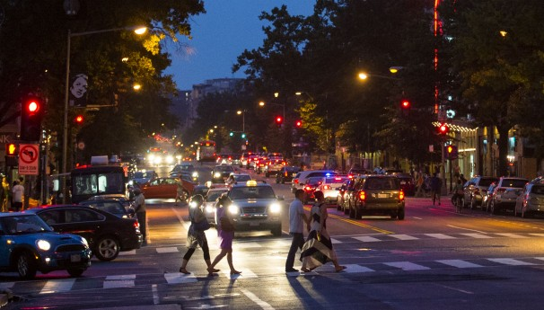 "14TH STREET IN WASHINGTON, DC IS NOW A HUB OF ACTIVITY AT NIGHT, BUT IS IT THE CENTER OF THINGS, ""DOWNTOWN""?"