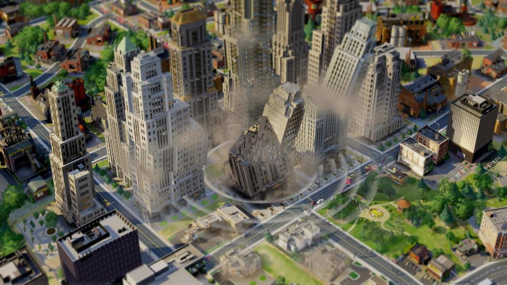 Image from SimCity.