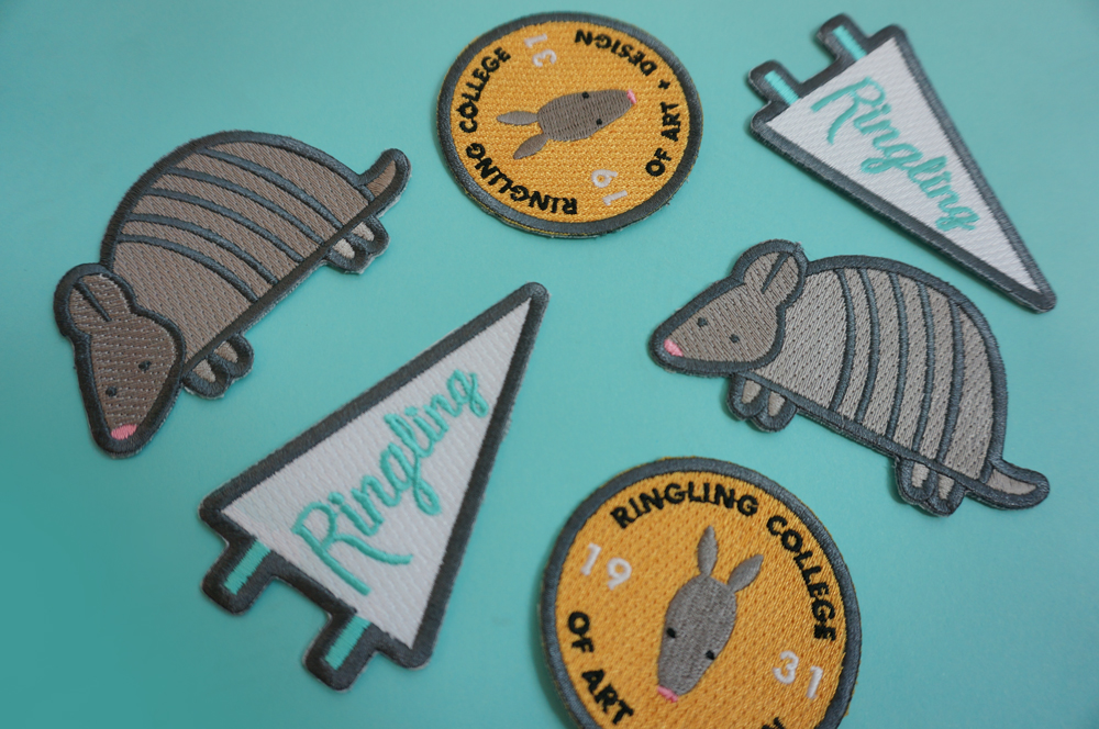 Students who filled their personal logbook with all 6 location stamps received patches as a prize.