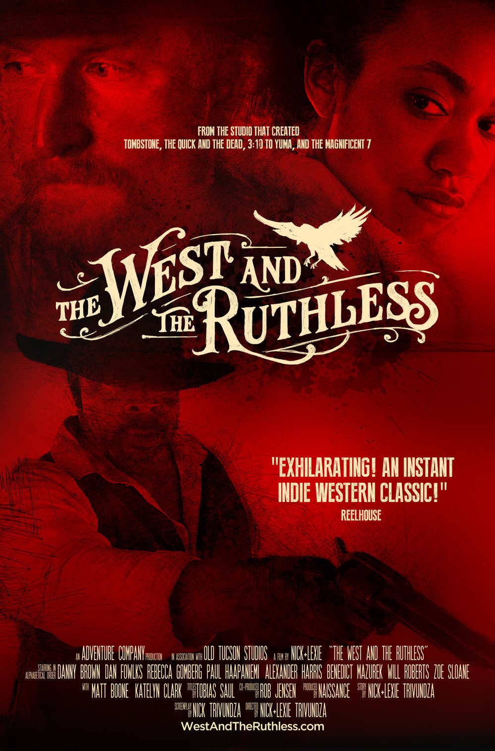 The West and the Ruthless, Official Poster 3.jpg