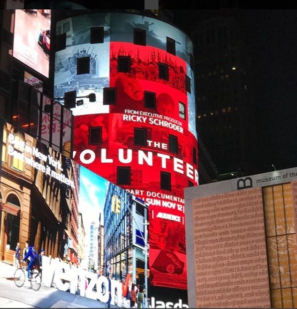 The Volunteers, Times Square
