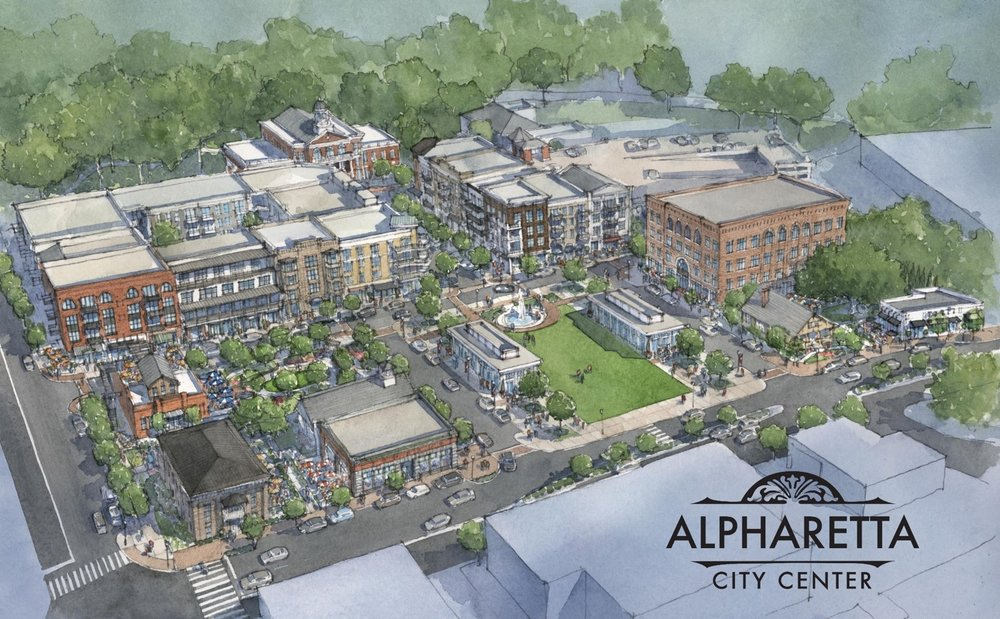 Market Analysis for Downtown Alpharetta Master Plan, 2014