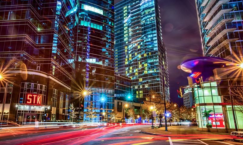 Econonomic Impact Study of the Atlanta's Peachtree Street Corridor