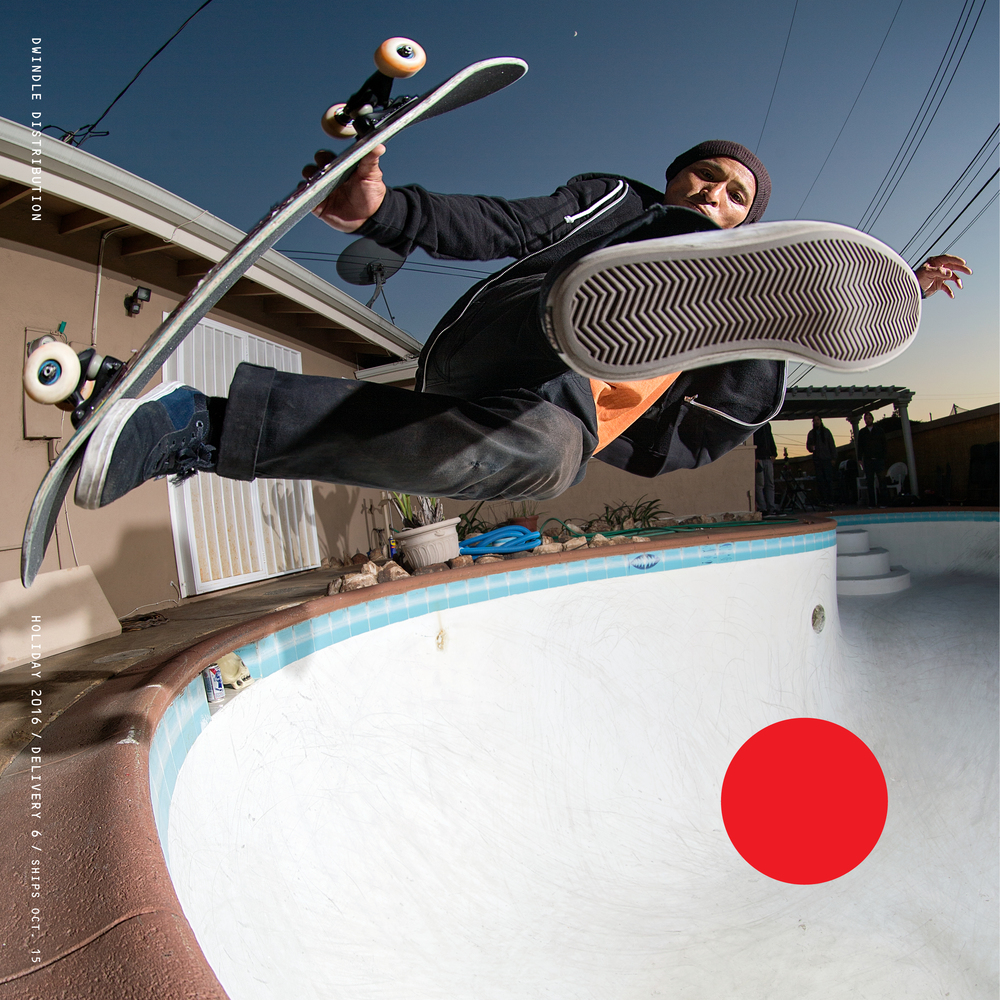 Dwindle Delivery 6 Catalog Cover Daewon Song