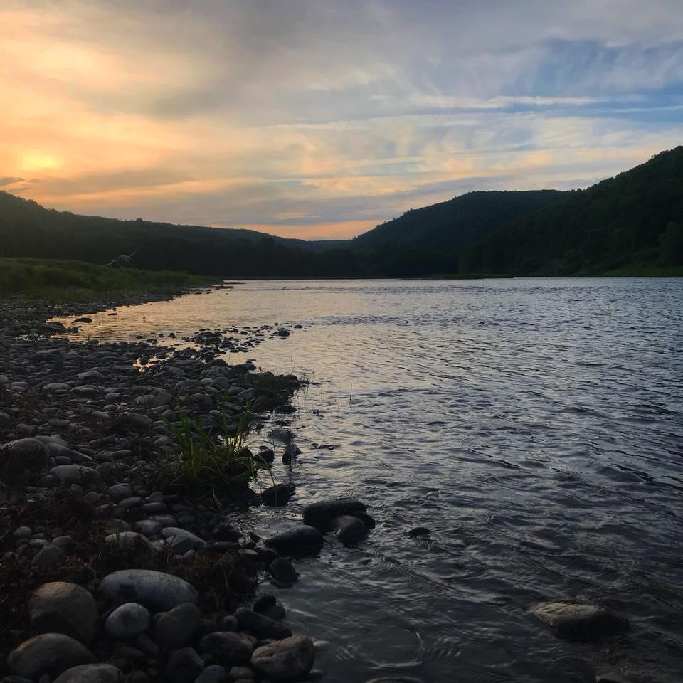 The Upper Delaware River in New York  Photo Credit: Friends of the Upper Delaware River