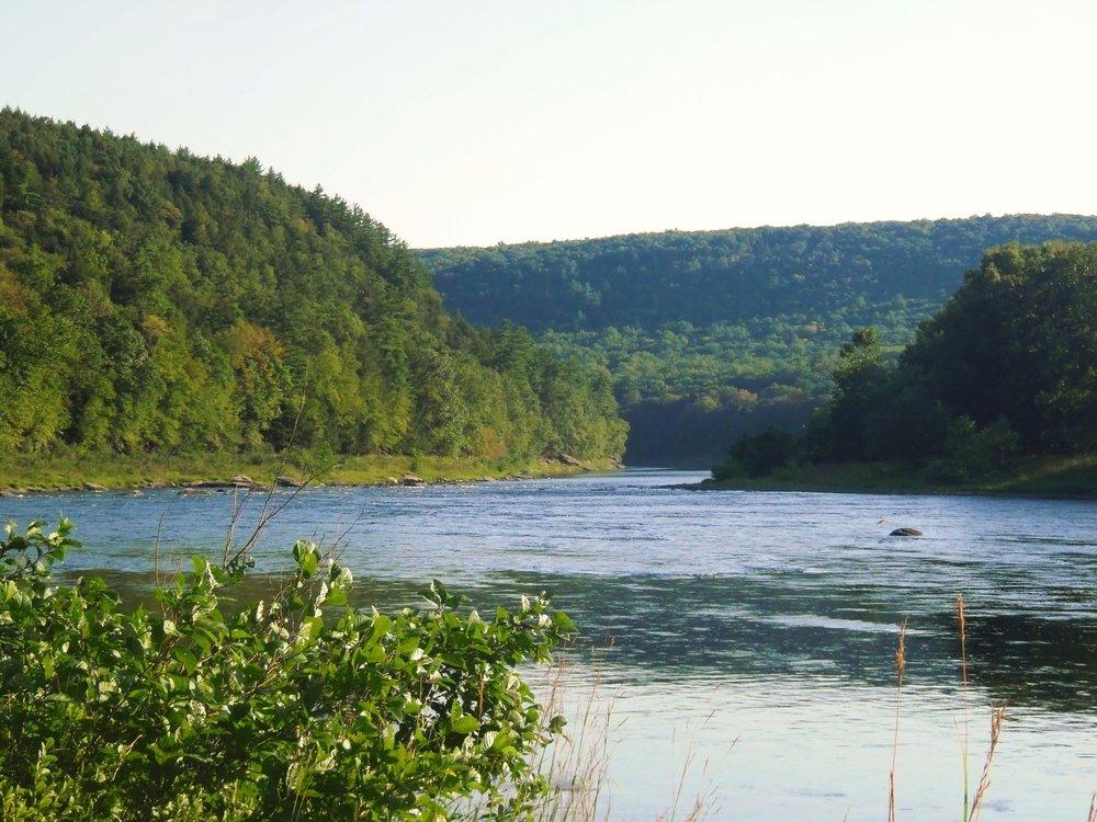 The Upper Delaware River in New York State  Photo Credit: Friends of the Upper Delaware River