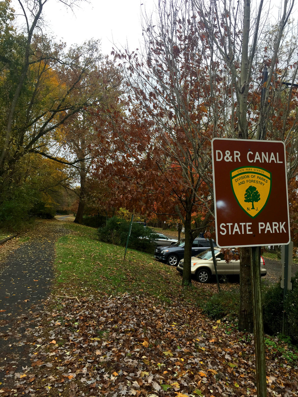 The Delaware and Raritan Canal State Park in Princeton, NJ.
