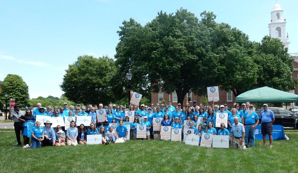 June 2018 Clean Water Rally in Wilmington, DE