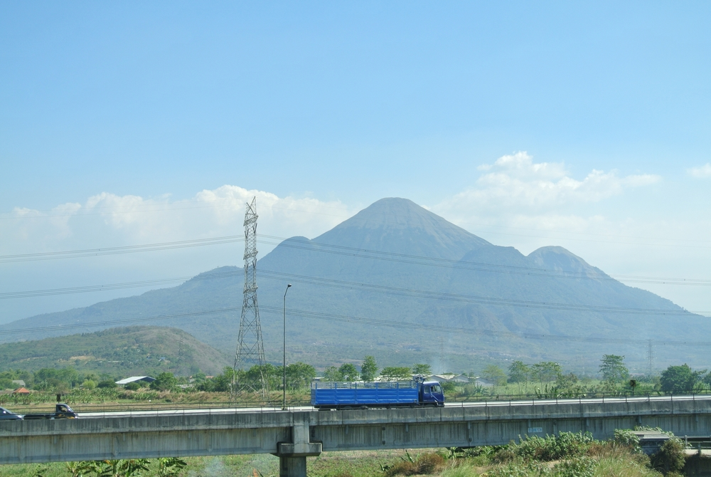 Mount Arjuno and Arjuna