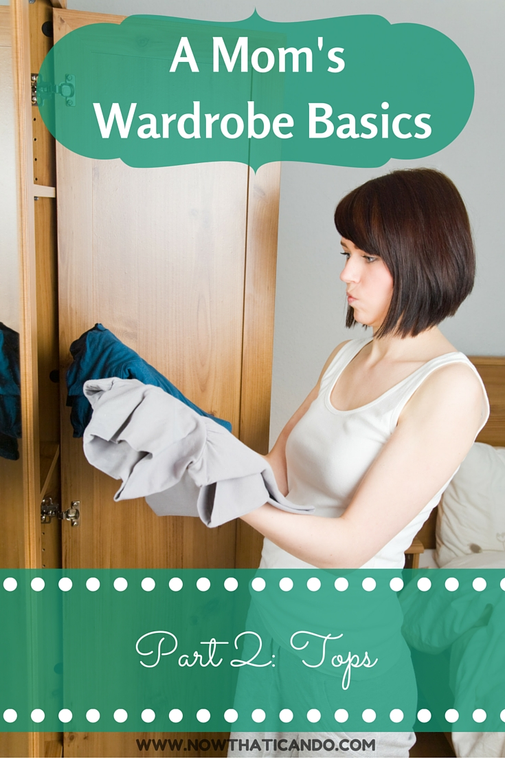 "Not sure how your wardrobe measures up when it comes to tops? Are you wearing what's ""in style""? This post helps you evaluate and renovate the tops in your wardrobe while keeping a balance of classic and trendy pieces!"
