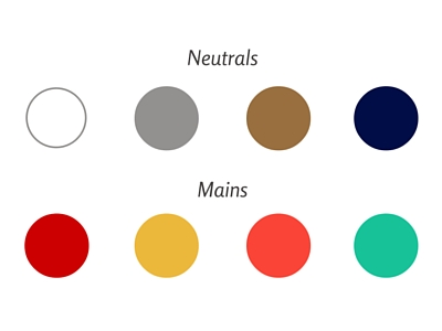 Corina's Wardrobe Color Palette