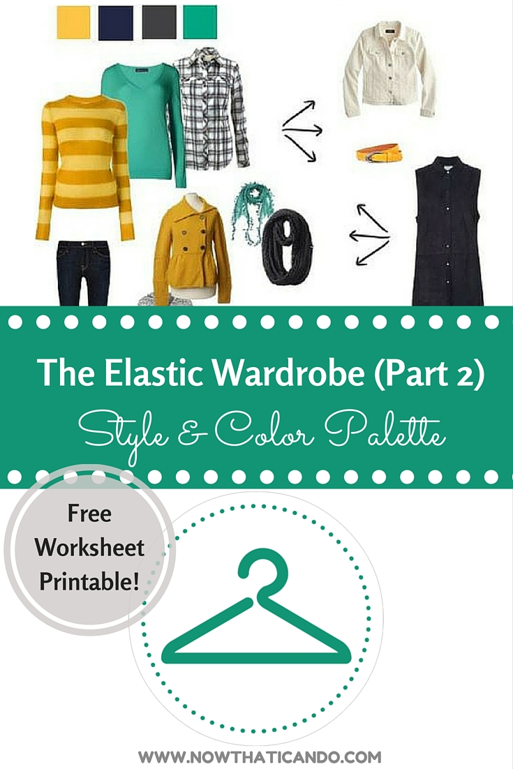"The Mom's key to closet sanity! Check out the series on ""Now THAT I Can Do, Momma!"" to get walked through the steps to reshaping your wardrobe on a budget. Makes it easy for moms to find something to wear each morning. // Mommy fashion // Mom style // Free printable PDF // Tips and tricks // How to"