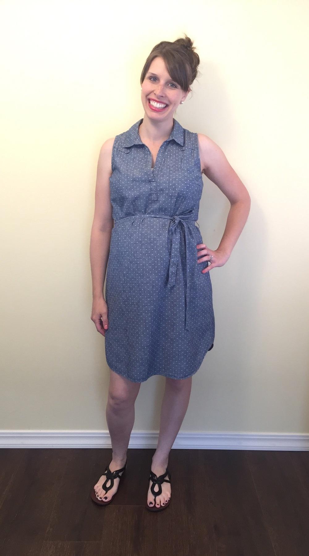 t-shirt dress, messy bun (2).jpg