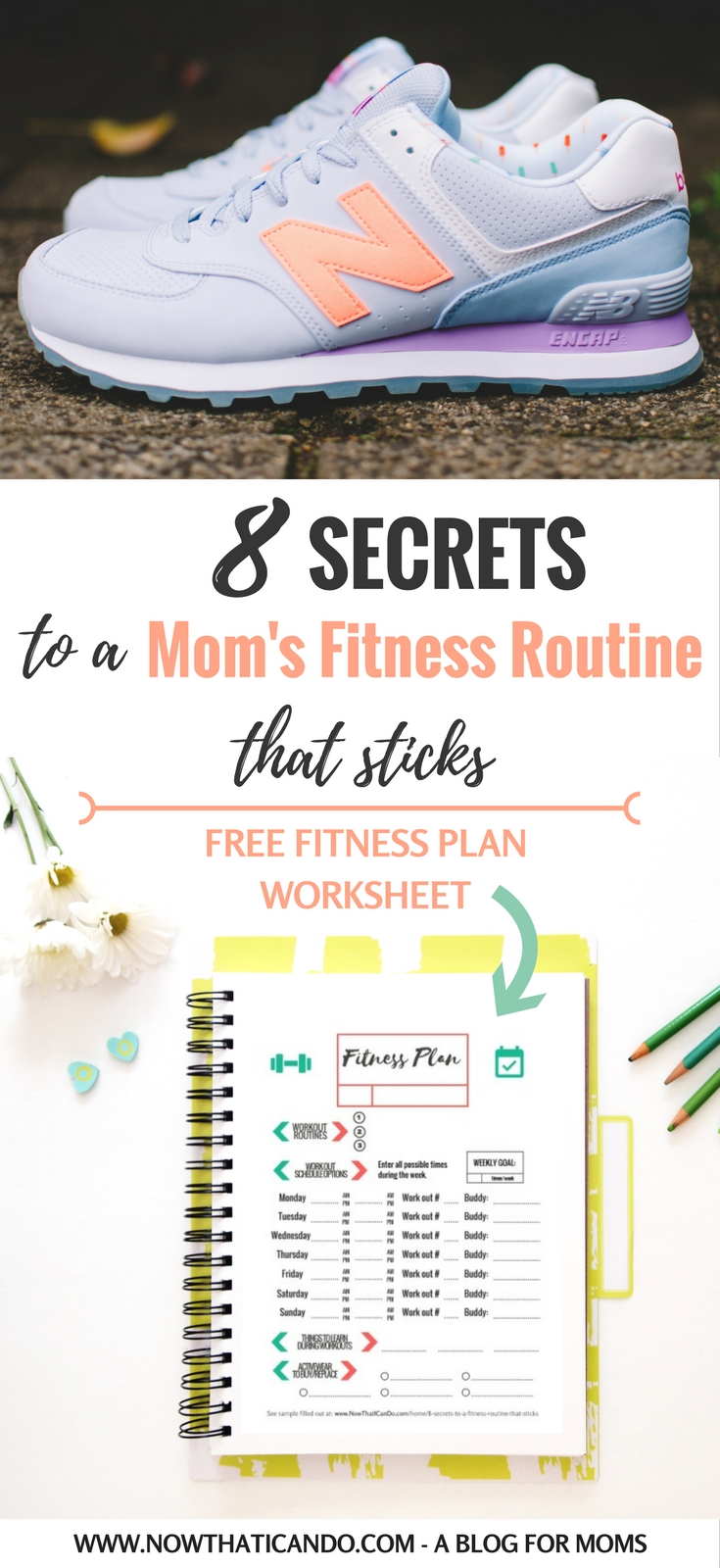 8 Secrets to a Fitness Routine that Sticks printable fitness – Personal Fitness Worksheet