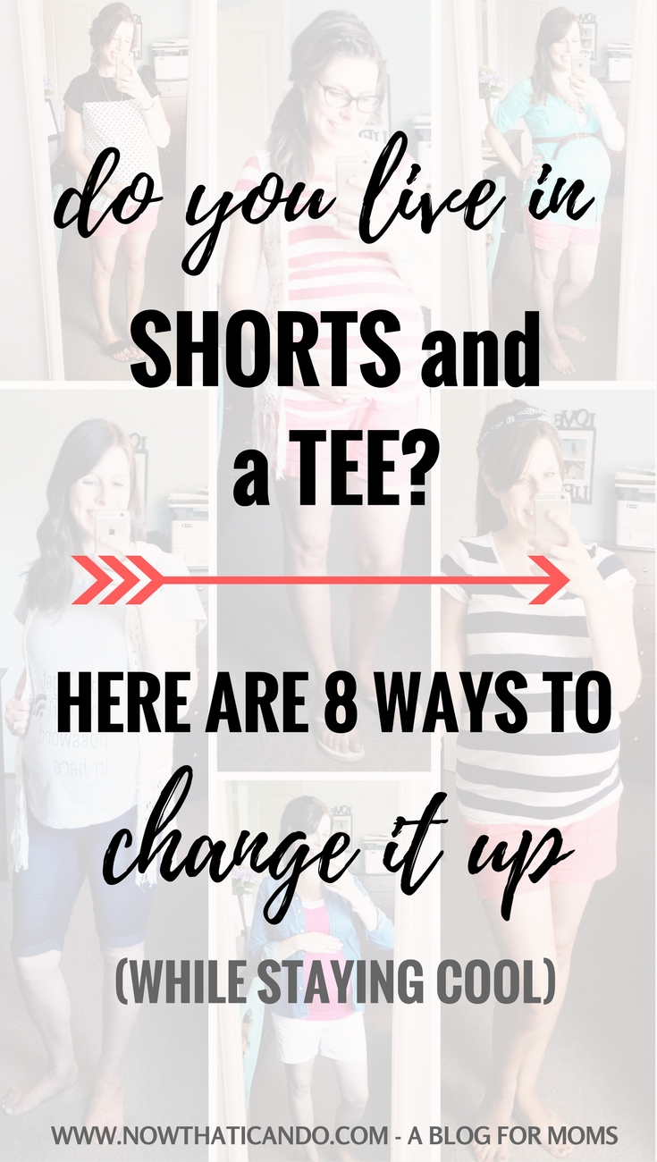 Do you find yourself living in shorts and a tee to stay cool during the summer? If you're bored of the same look over and over, try out these 8 ways to change it up without making you any warmer!