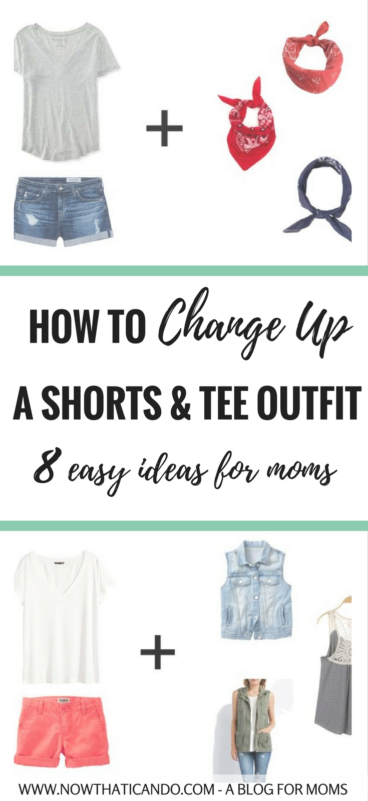 Do you find yourself living in shorts and a tee to stay cool during the summer? If you're bored of the same look over and over, click through for 8 ways to change it up without making you any warmer.