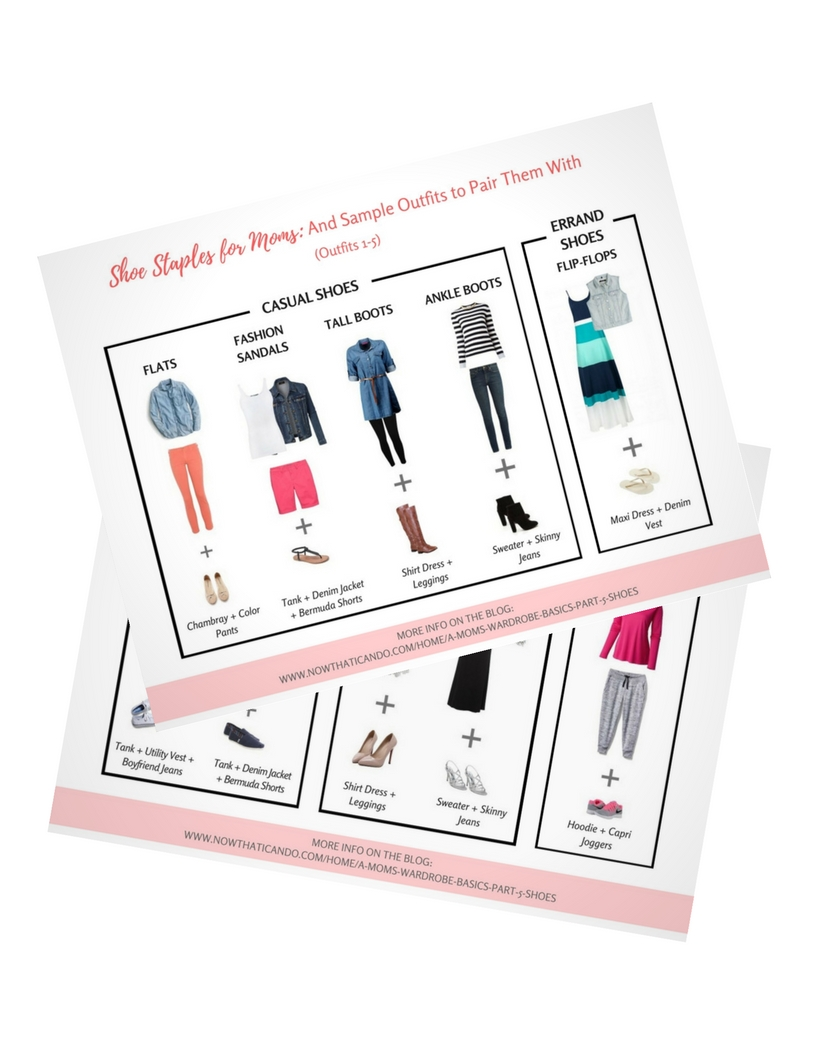 Moms Shoe Staples & Outfits to Pair Them With (2 Pages)