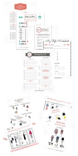Free printables and guides about fashion for moms.