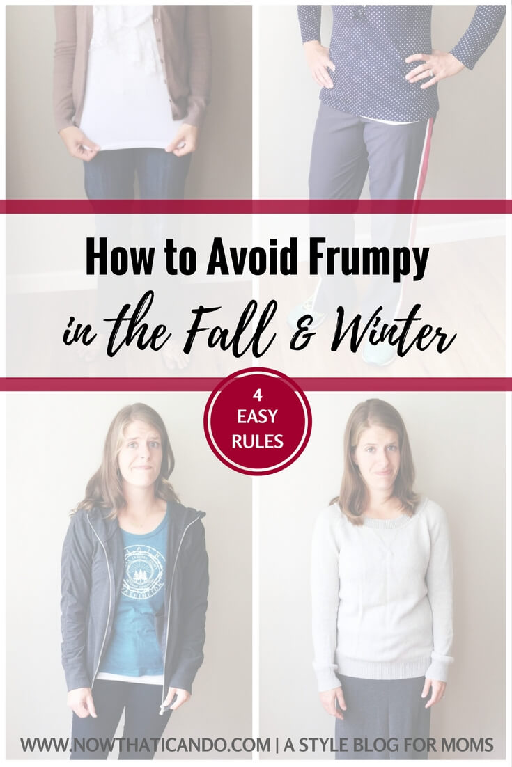 How To Turn Frumpy Outfits into Chic Mom Outfits (fall ...