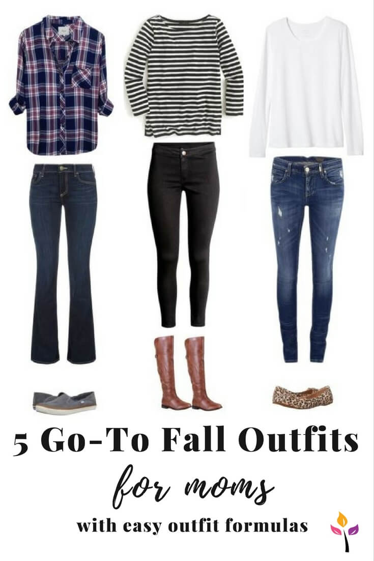 5 Go-to Fall Outfits for Moms (with easy outfit formulas) - 5 Go-to Fall Outfits For Moms (with Easy Outfit Formulas) — Now