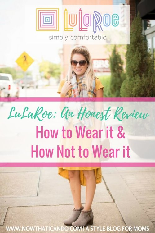 986096ccfbe46 LuLaRoe  An Honest Review on the Pros and Cons of the Popular Trend (+ 5  Tips for Wearing it Right) — Frump Fighters