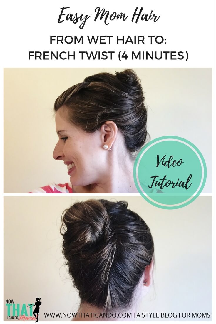 Fast hair styles for right out of the shower! No need to blow dry or use styling tools. Love this blogger's easy tutorials for wet hairdos that look adorable but can be done up super fast! If you're a busy mom, check these out.