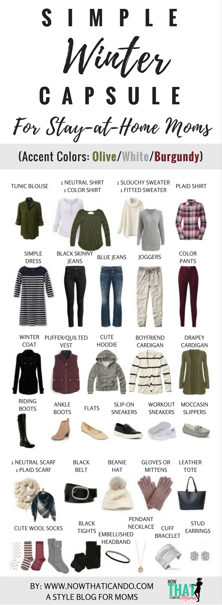 winter wardrobe plan 130 outfits for stay at home moms free download now that i can do mama. Black Bedroom Furniture Sets. Home Design Ideas