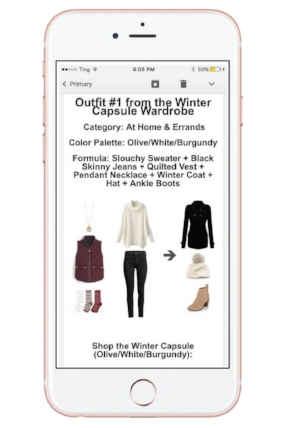 Get 7 Free Winter Outfit Ideas Delivered to your Inbox. These are all designed for stay-at-home moms!