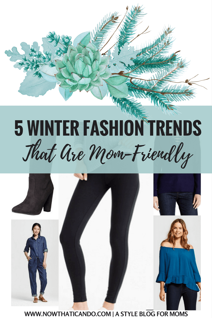 So THAT's what's trending right now! I love being told how to look on-trend, and all with a mom-friendly filter! This whole blog is so helpful!!