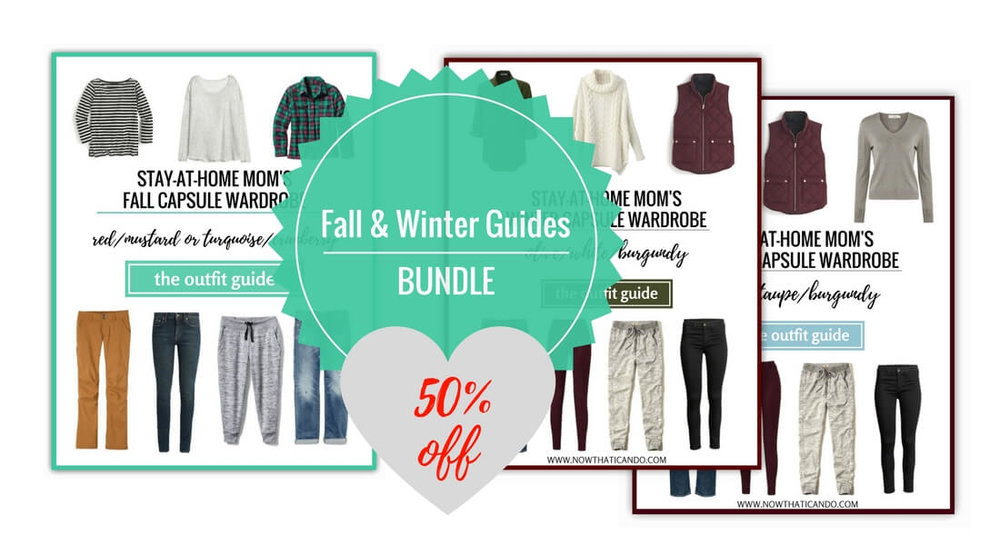Fall and Winter Outfit Guides for Moms- special offer