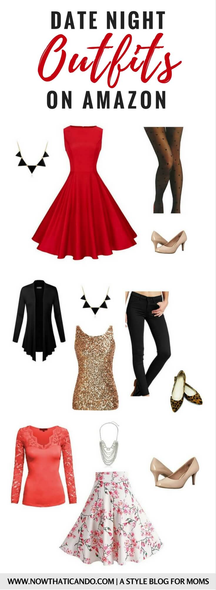 Love the gorgeous but easy ideas for what to wear on date night with my spouse! Moms everywhere, this will pull you out of your mom frump!