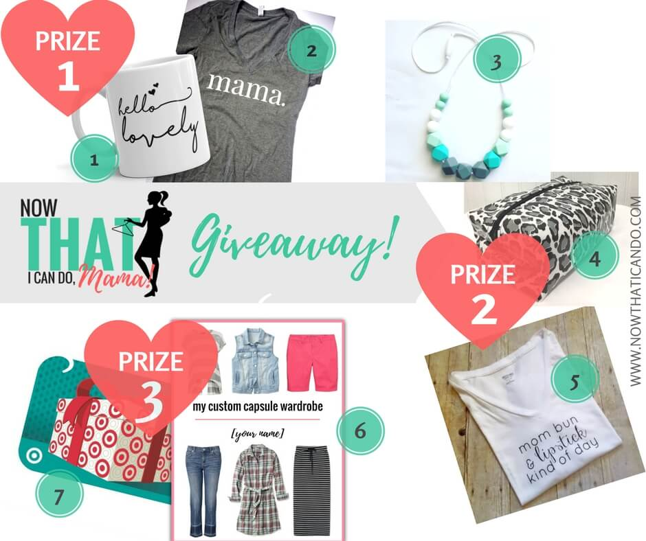 Spring Summer Capsule Giveaway for Now THAT I Can Do, Mama!