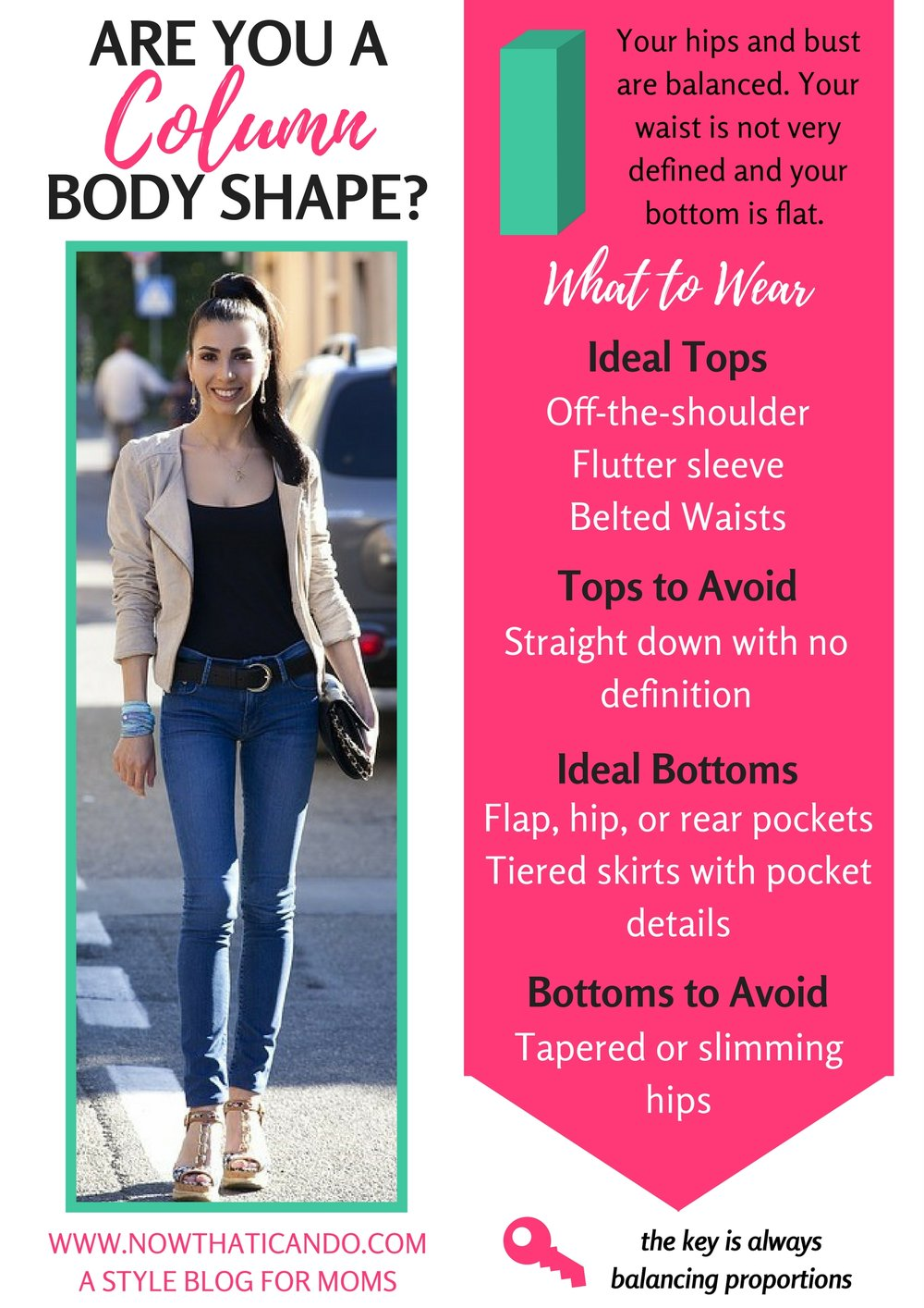 Are you a Straight Body Shape? (Hover to Save on Pinterest!)