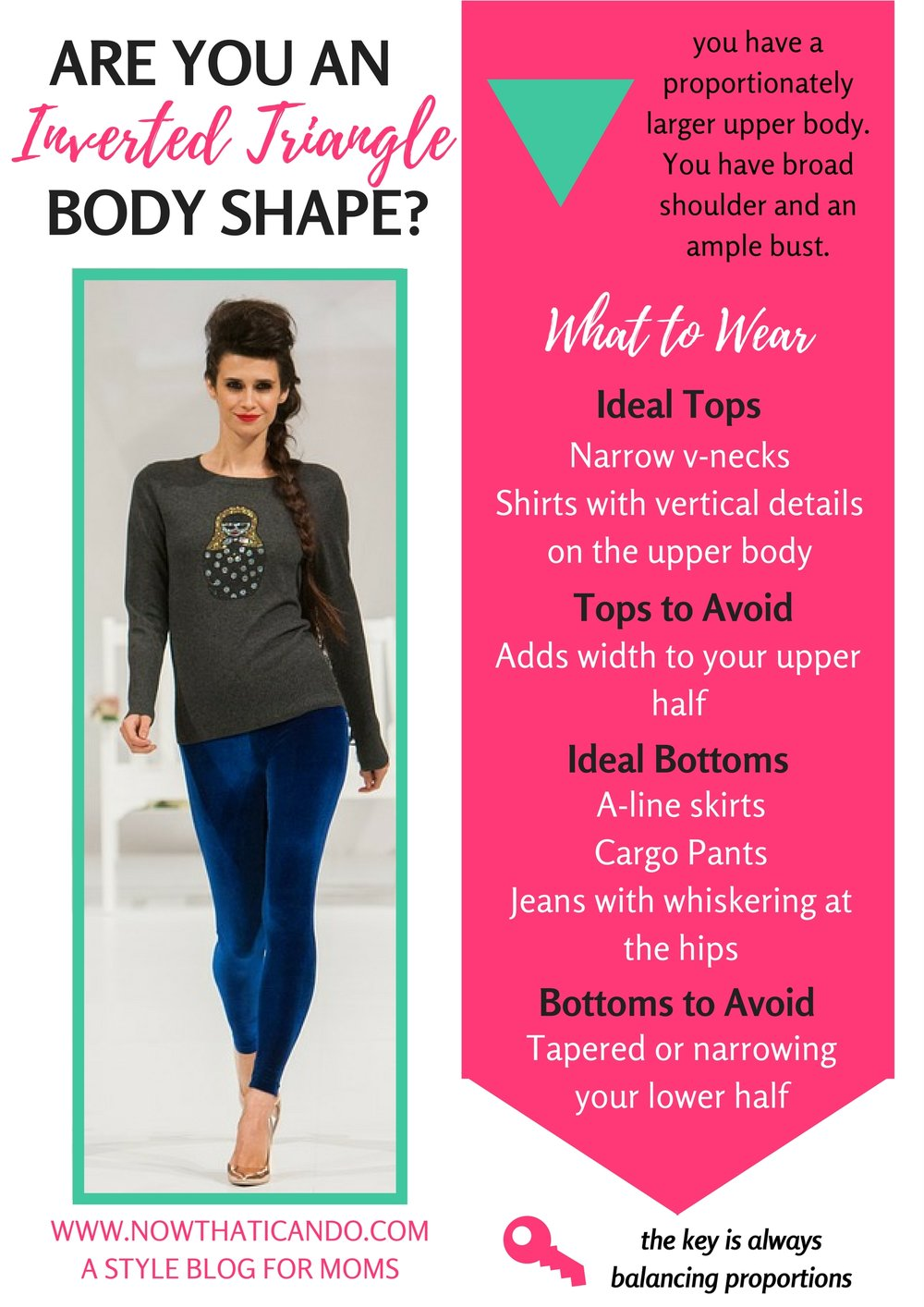 are you the inverted triangle body shape? (Pin this to save for future reference!)