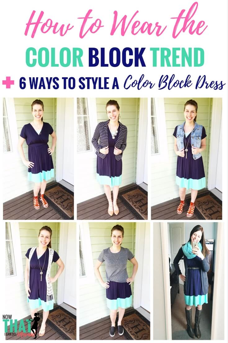 to wear - Blocking color trend: how to colorblock video